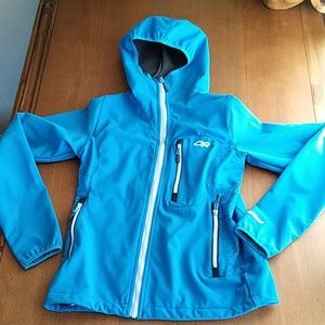 Outdoor research women's hooded jacket size small